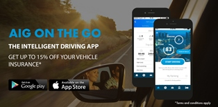 AIG On the Go Driving App