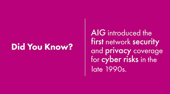Did You Know? Cyber Risk Solutions